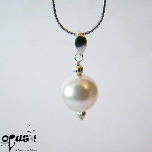 Set Bijuterii White Aria Pearl SW02