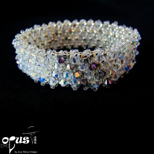 Bratara Love cu cristale