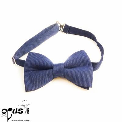 Papion clasic albastru