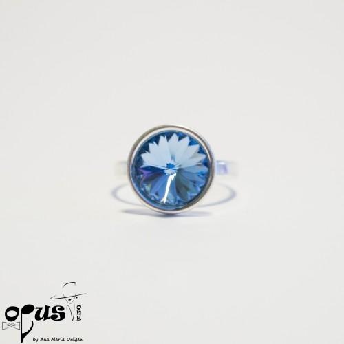 Set Bijuterii Blue Rivoli Love