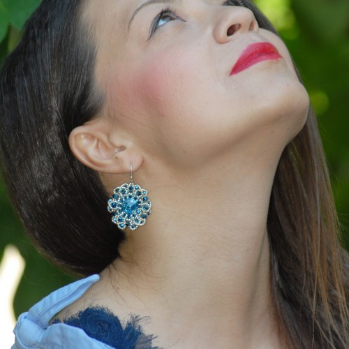 Cercei Flower Blue Feelings