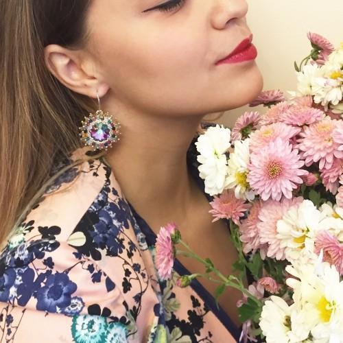 Cercei Flower Harmony Colors