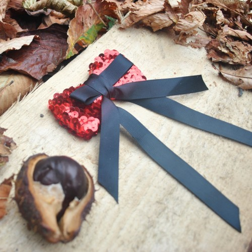 Brosa Vivid Red Bow