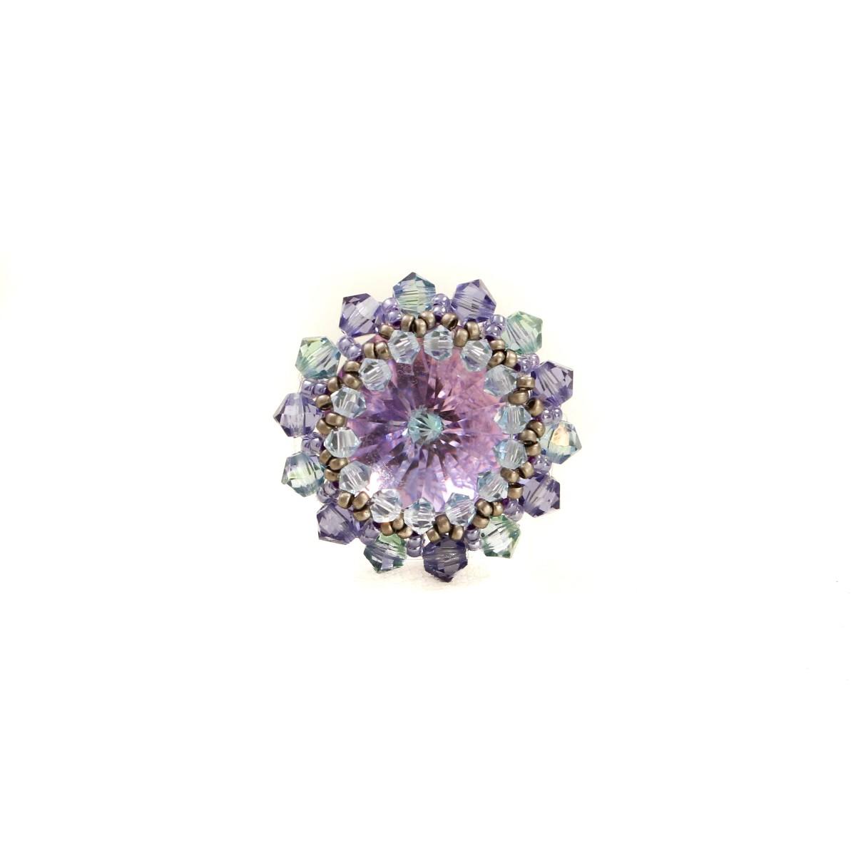 Inel Cristale Spring Flower