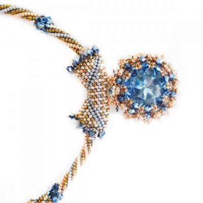 Colier Elegant Blue Night