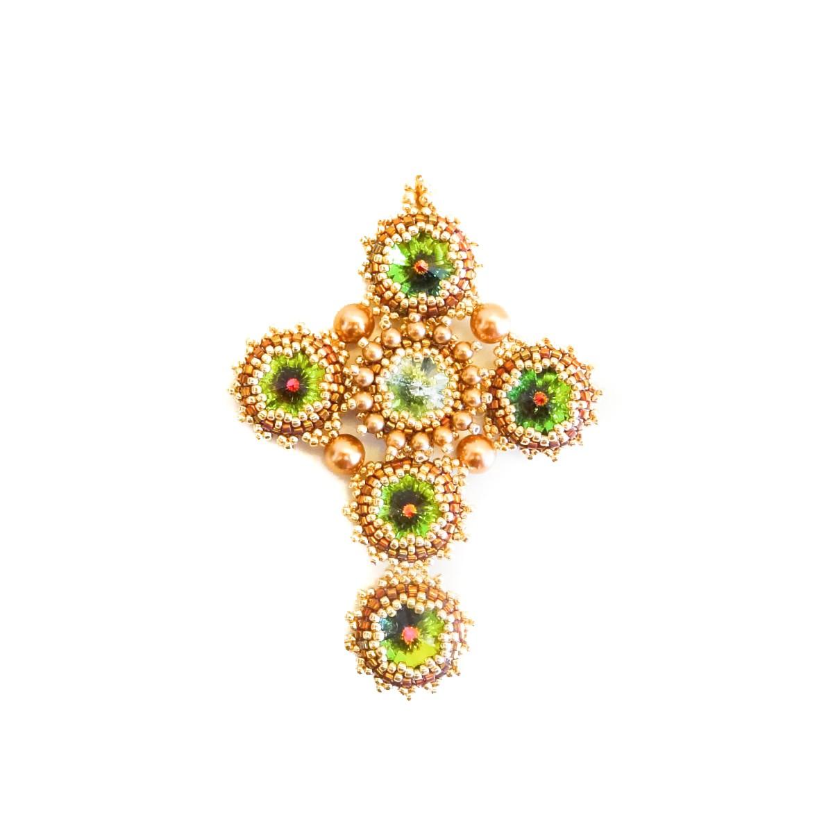Pandantiv Cruce cu Cristale Swarovski
