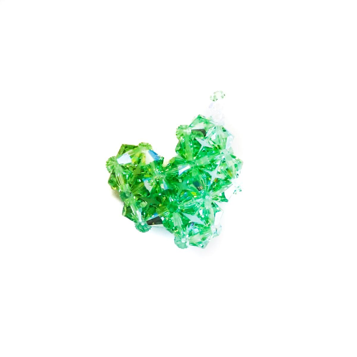 Pandantiv inima verde