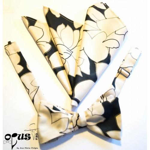 Papion Self-Tied Floral Op1