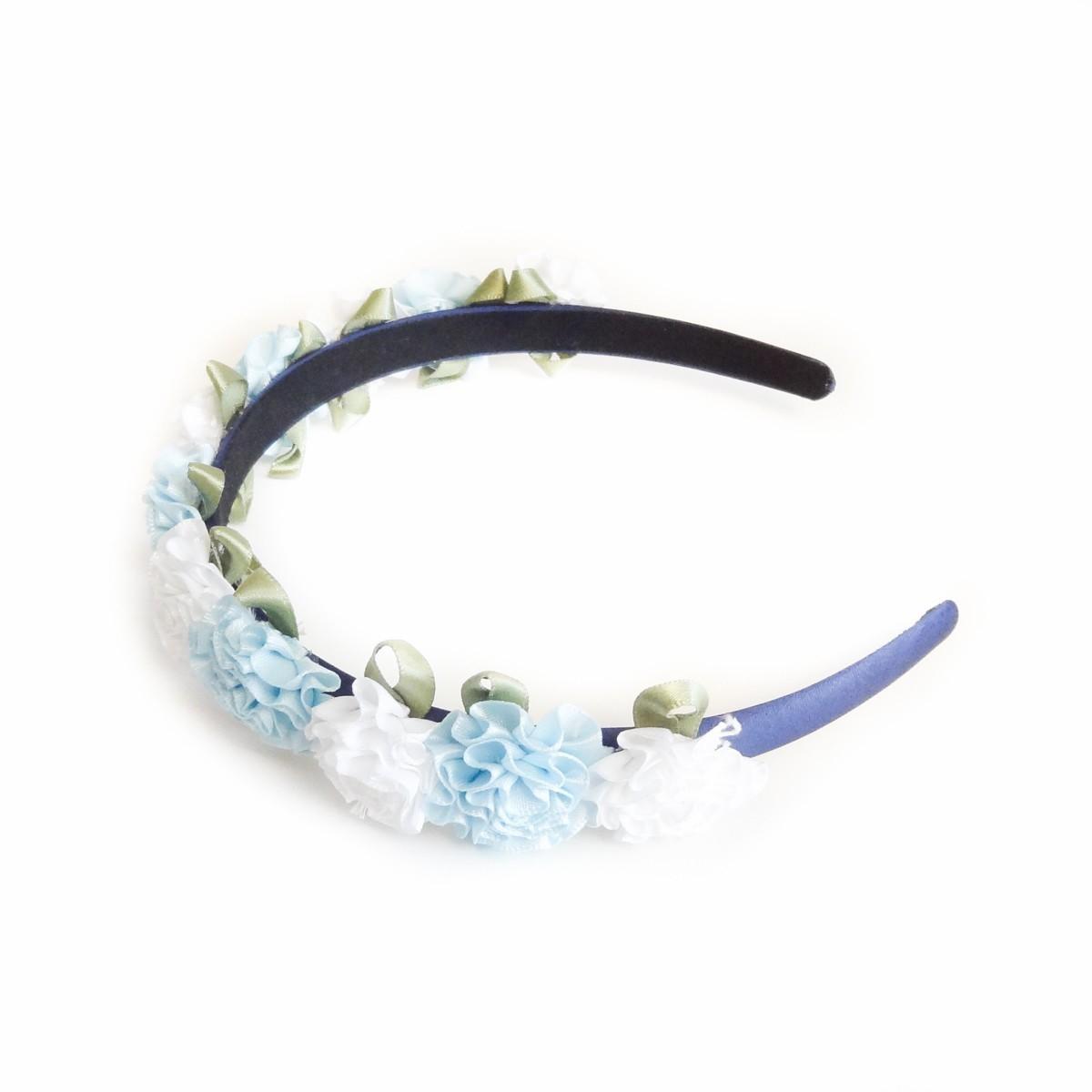 Cordeluta de par flori albe si bleu