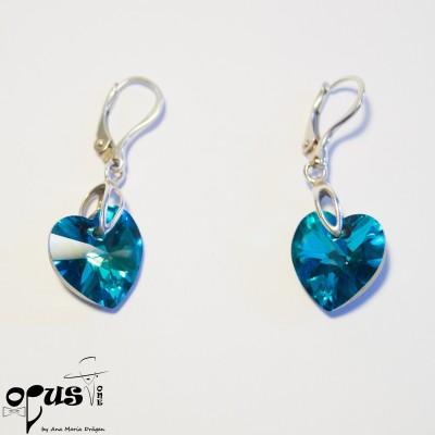 Cercei Heart Bermuda Blue