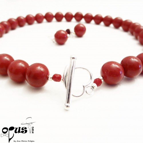 Set Perle Mallorca Red Love