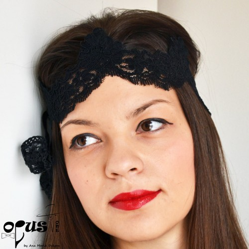 Bentita de par Little Black Hairband