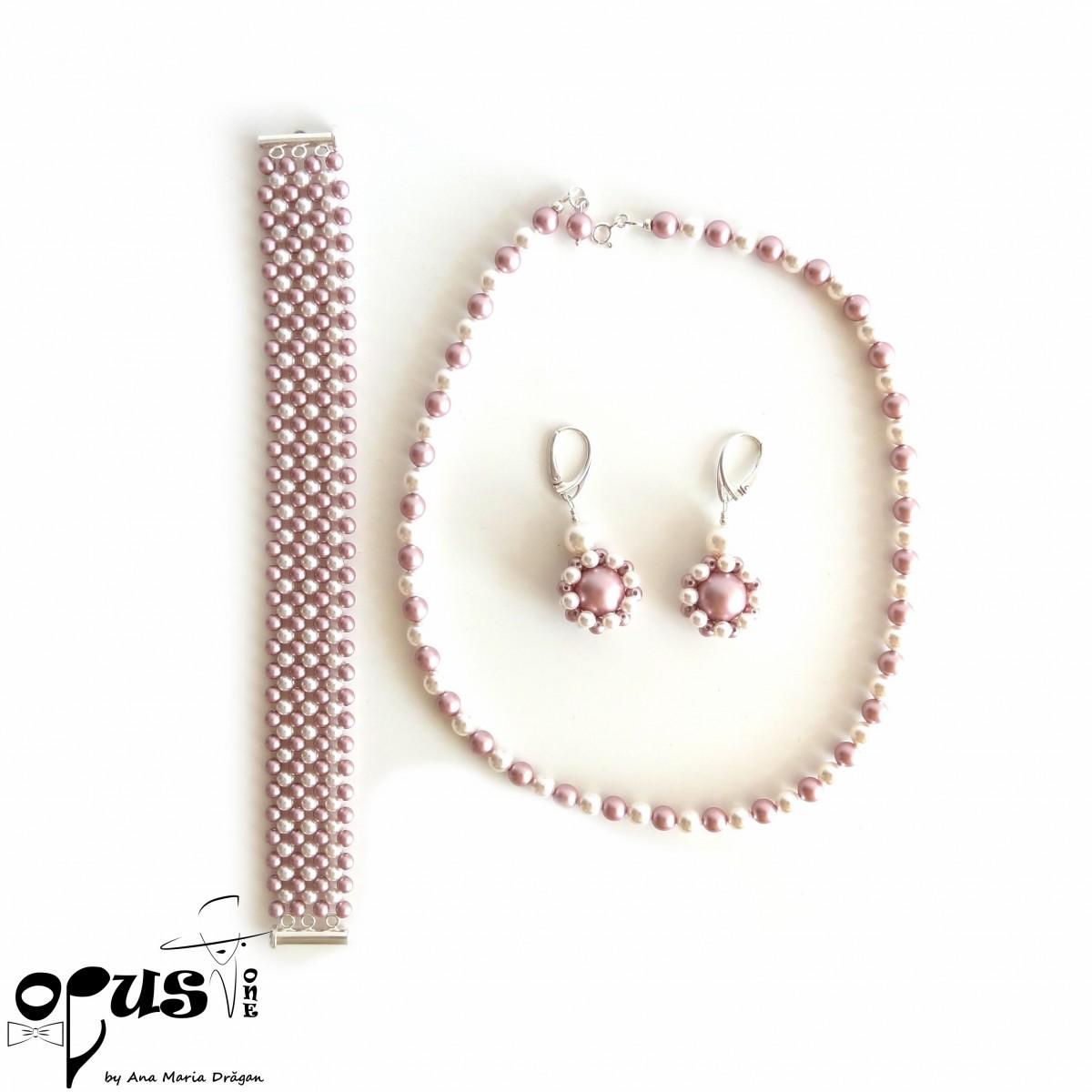Set Bijuterii Simfonia Perlelor