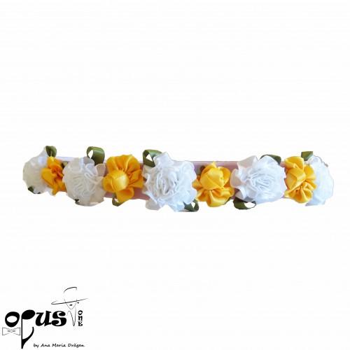 Set Palarie si Geanta Flower