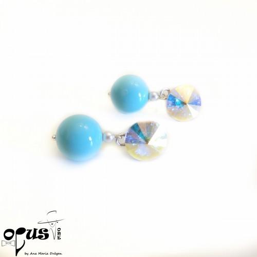 Set Bijuterii cu Perle Color Fun