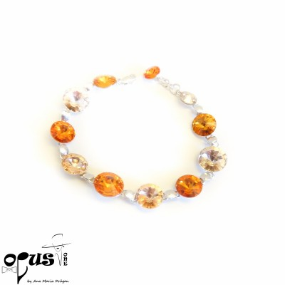 Bratara Rivoli Orange Emotion