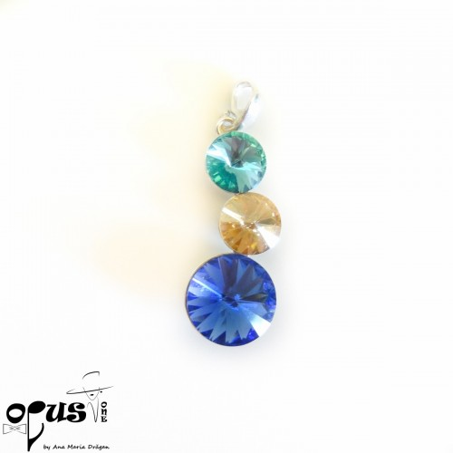 Set Bijuterii Trio Blue Love